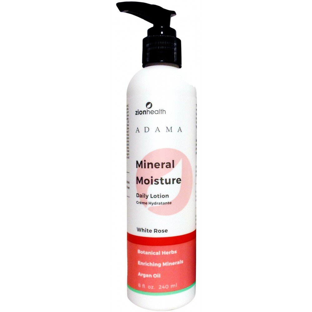 Moisture Intense Lotion with Argan Oil - White Rose 8oz.