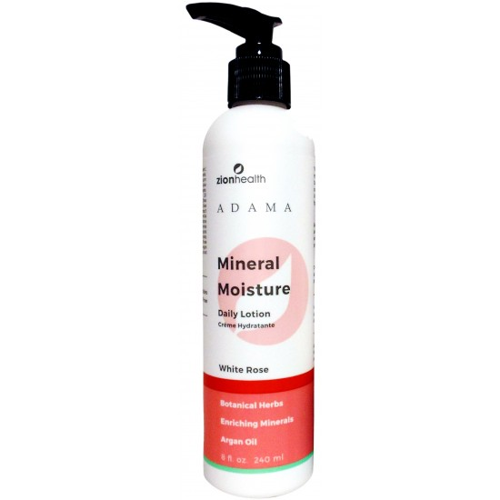 Moisture Intense Lotion with Argan Oil - White Rose 8oz. image
