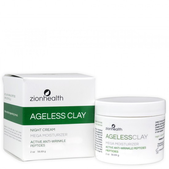 Ageless Clay Anti-Wrinkle Cream 2oz image