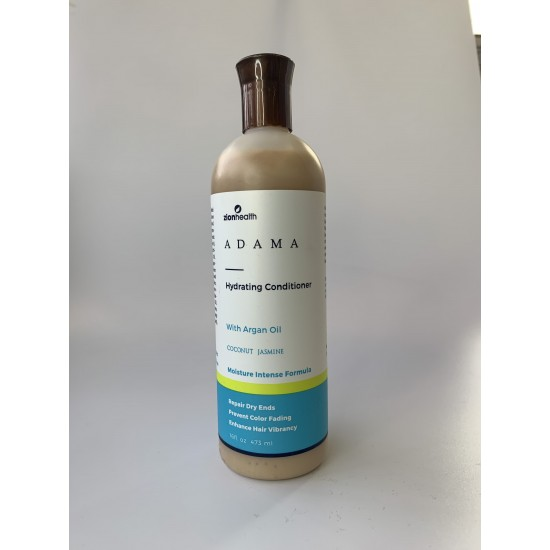 Adama Minerals Hydrating Color Care Conditioner with Argan Oil - Coconut Jasmine 16oz image