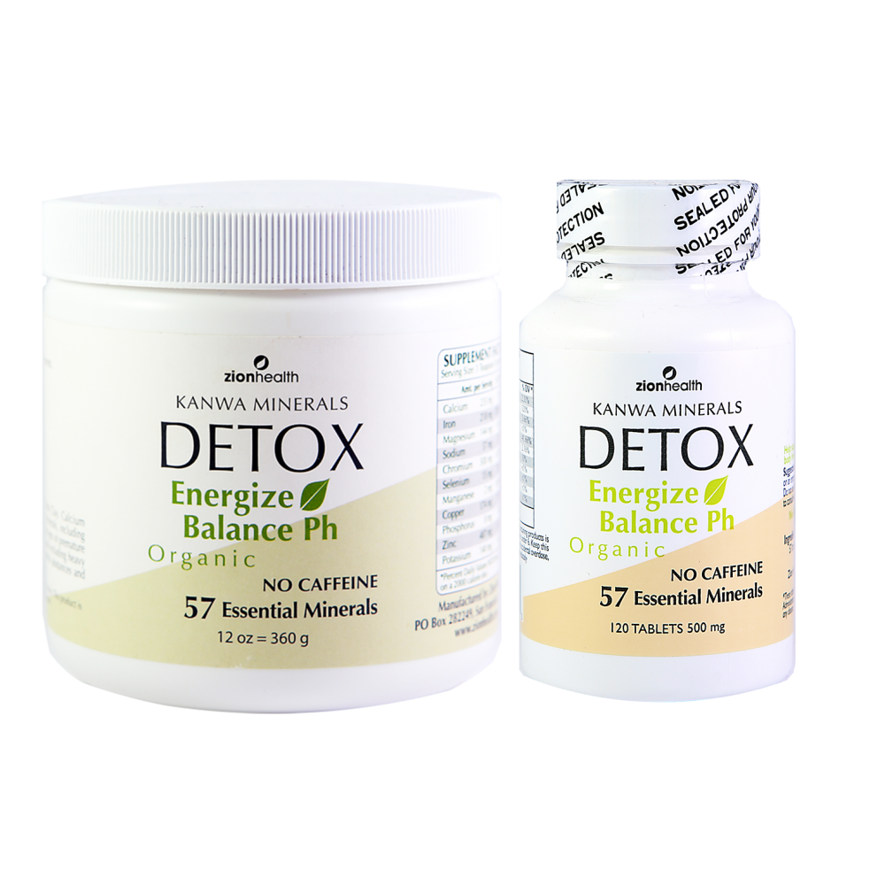 Home & Away - Natural Detox Products Combo