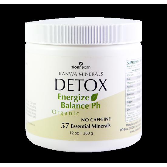 Kanwa Detox Powder - Whole Body Cleanse image