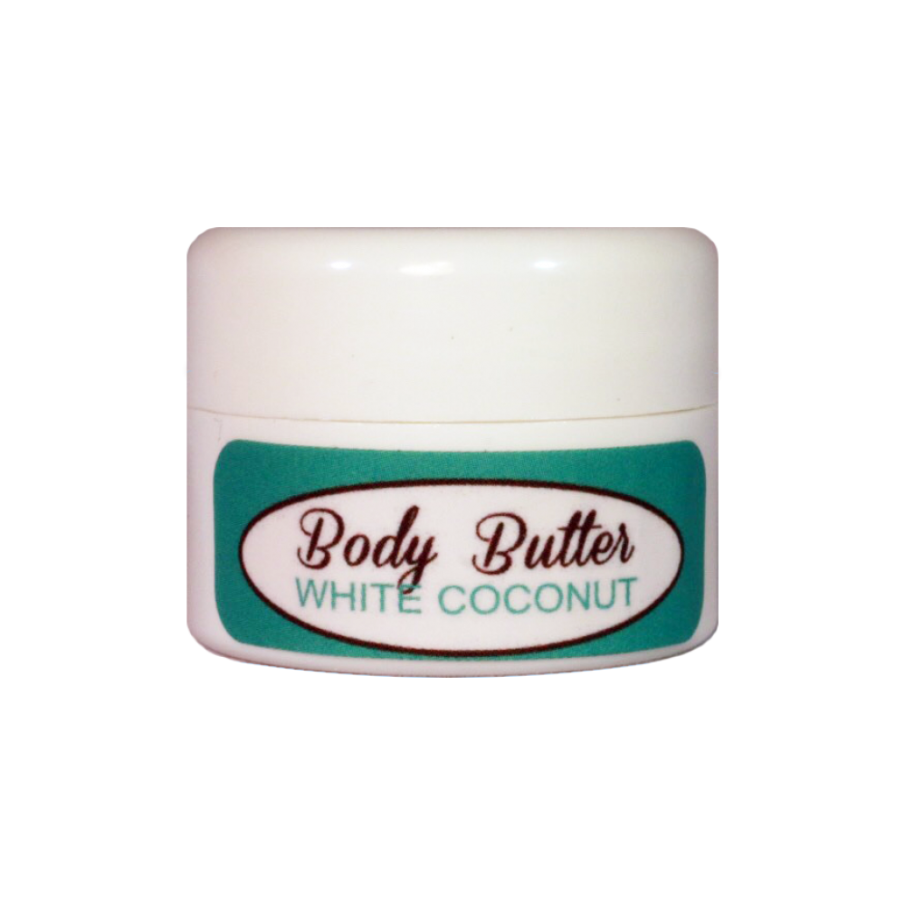 White Coconut Body Butter (Travel size sample) Limit one