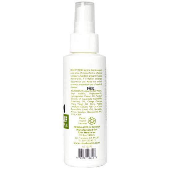 Alozin Ultimate Relief Spray + CBD image