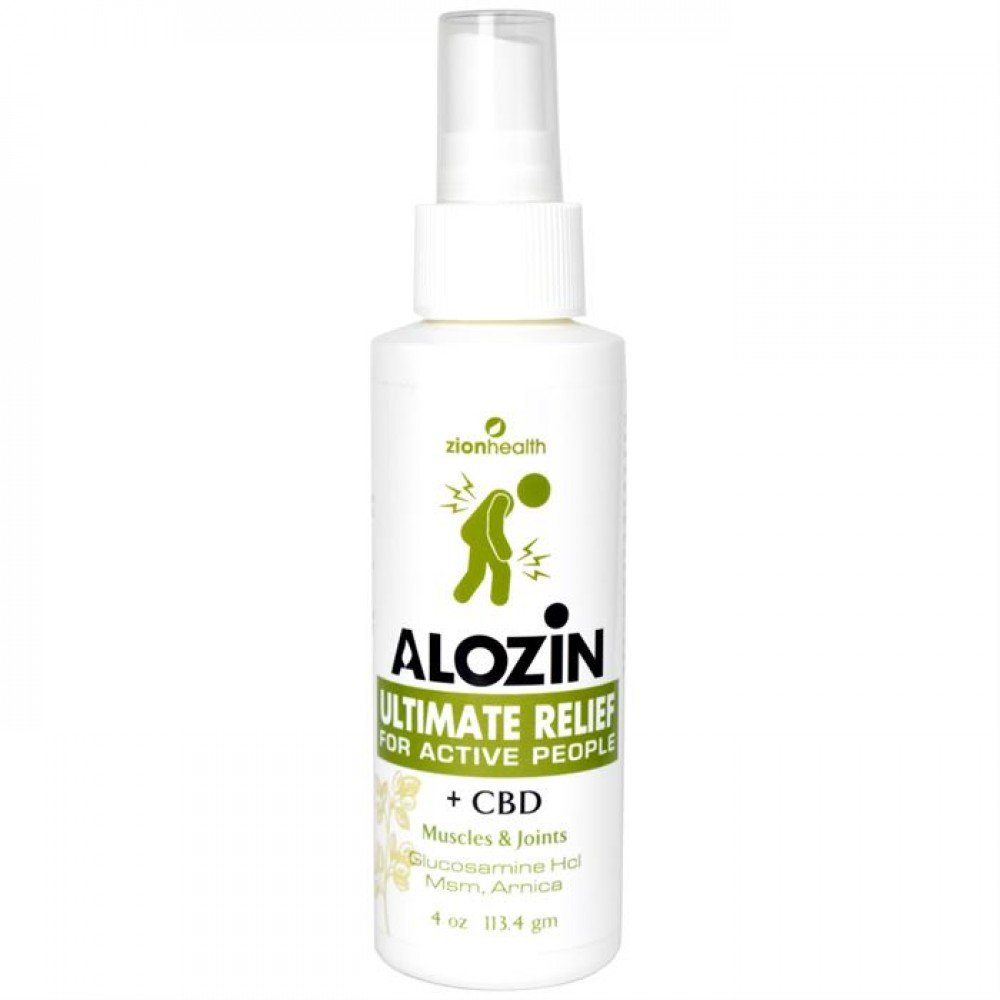 Alozin Ultimate Relief Spray + CBD