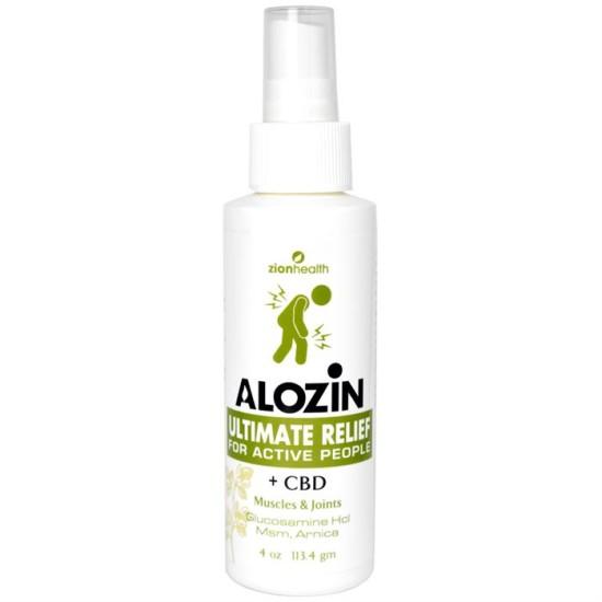 Alozin Ultimate Relief Spray CBD Plus image