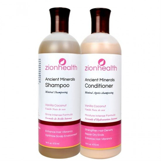 Adama Minerals Hair Care Package - Vanilla Coconut image