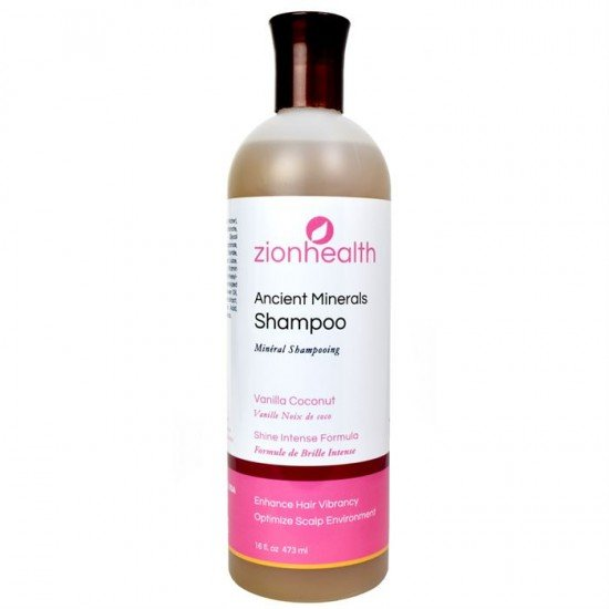 Adama Minerals Vanilla Coconut Shampoo 16oz