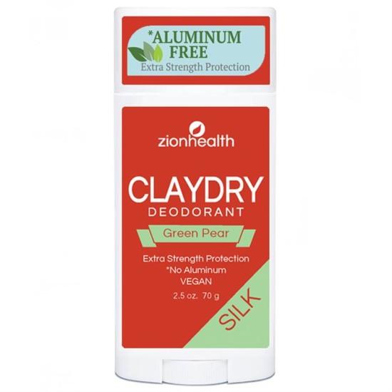 Clay Dry SILK - Green Pear Vegan Deodorant image