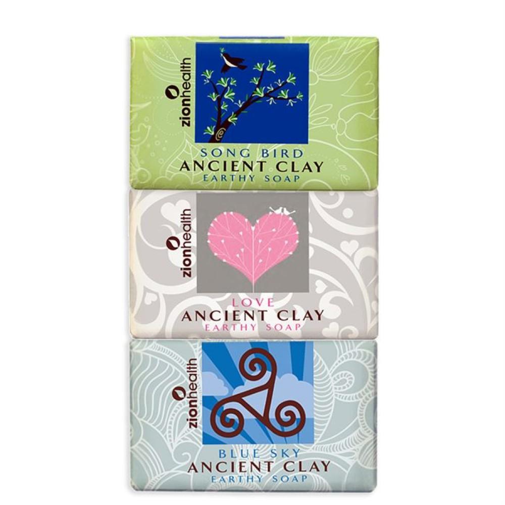 Songbird + Love Soap + Blue Sky Clay Soap Bundle - Save  $5.47