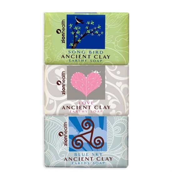 Songbird + Love Soap + Blue Sky Clay Soap Bundle - Save $5.47 image