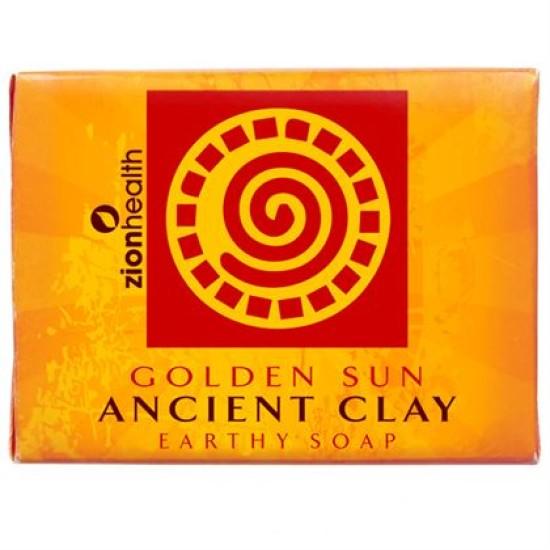 Ancient Clay Vegan Soap - Golden Sun 10.5 oz image
