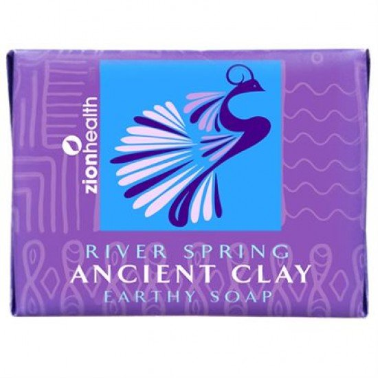Ancient Clay Vegan Soap - River Spring 10.5 oz image