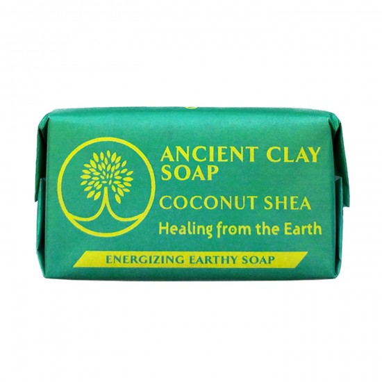 Ancient Clay Natural Soap - 1oz. Coconut Shea image