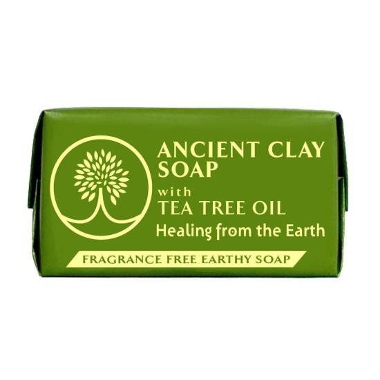 Ancient Clay Soap - Tea Tree Oil 1 oz 100% Natural