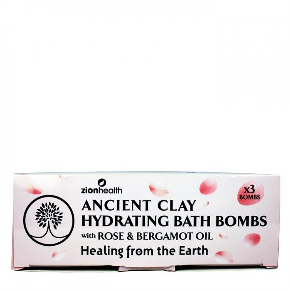 Ancient Clay Hydrating Bath Bombs Front Box