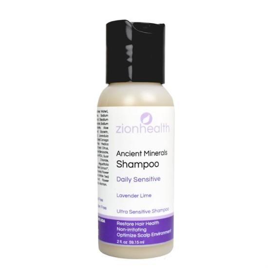 Zion Health Daily Sensitive Shampoo 2oz image