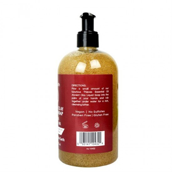 Ancient Clay Liquid Soap Thieves Essential Oil 16oz image