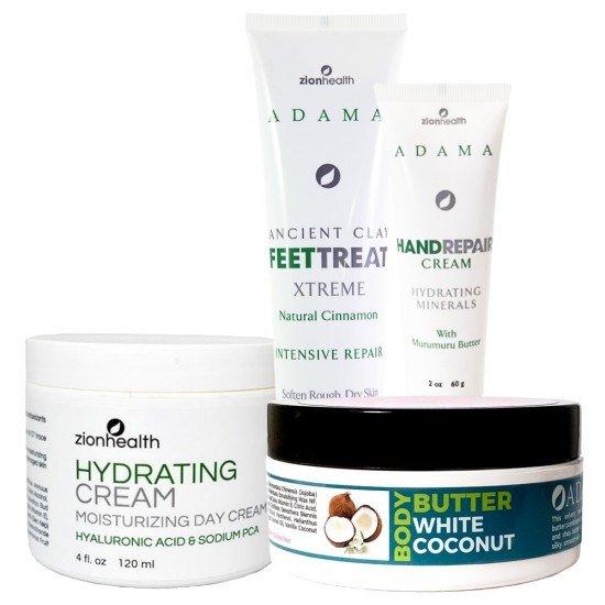 Hydration Station Bundle (Hydrating Cream + Hand Cream + Feet Treat + WC Body Butter) image