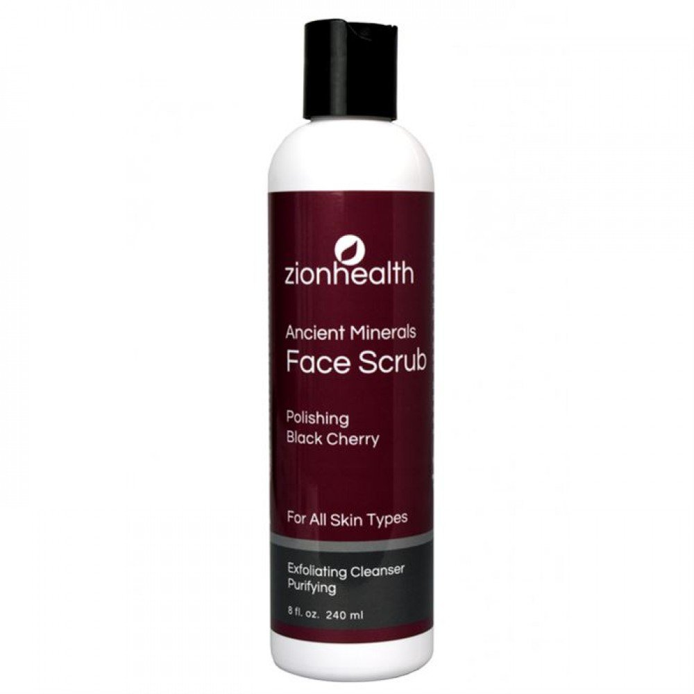 Face Scrub Black Cherry Front