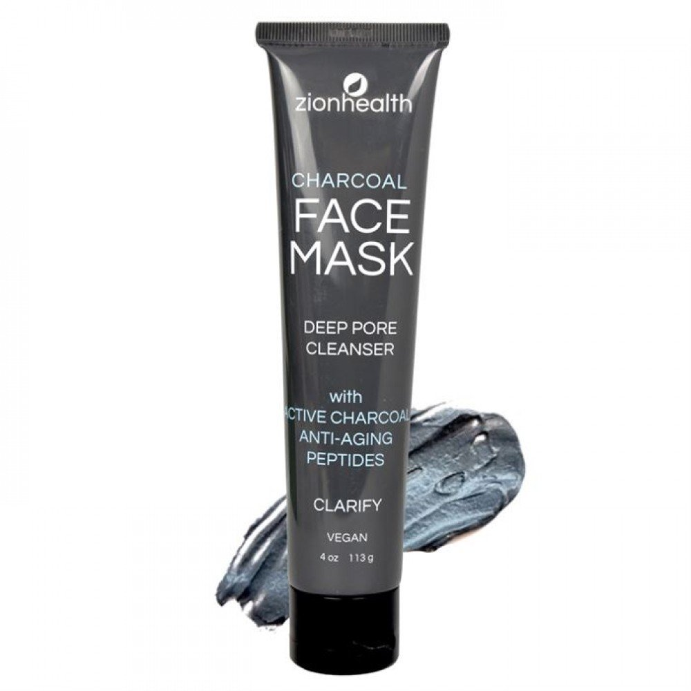 Front Charcoal Face Mask 4oz