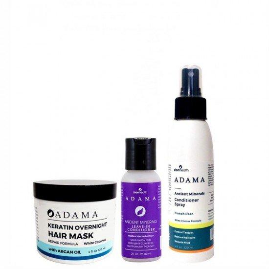 Color Care Trio Bundle (Hair Mask 4oz. + Leave in Conditioner 2oz. + Conditioner Spray 8oz.) image