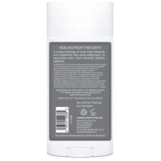 Clay Dry Bold - Sandalwood For Men Vegan Deodorant 2.8oz. image