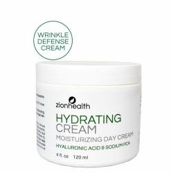 Hydrating Cream Moisturizing Day Cream - Hyaluronic Acid & PCA 4oz.