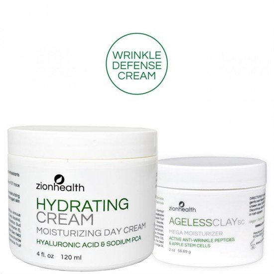 Wrinkle Defense and Fade Cream - Anti Wrinkle Combo (Ageless SC + Hydrating) image