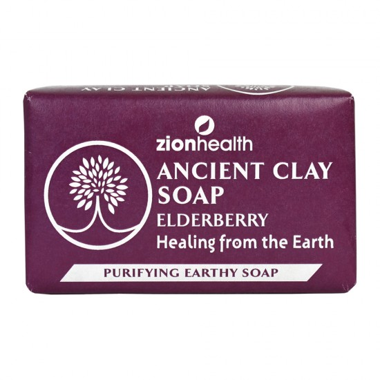 Ancient Clay Soap - Elderberry 6oz image