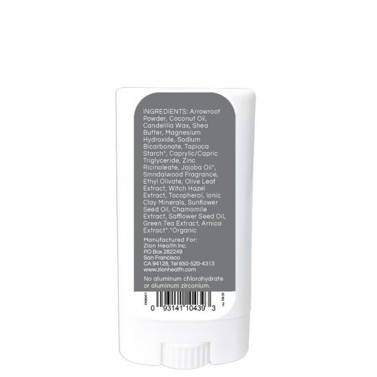 Travel Size Clay Dry Bold - Sandalwood Men Vegan Deodorant 0.50 oz. image