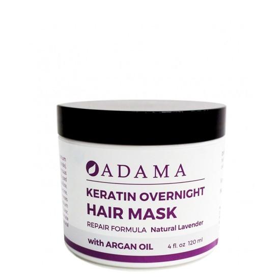 Adama Keratin Hair Mask with Argan Oil - Natural Lavender