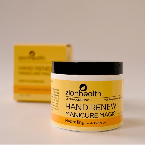 Zion Health Deep Nourishing Hand Renew Manicure Magic 4 oz.