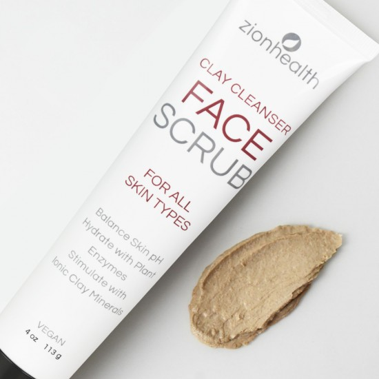 Ancient Clay Face Scrub - 4oz image