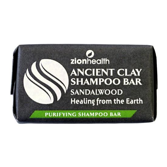Ancient Clay Shampoo Bar - Sandalwood 1 oz image