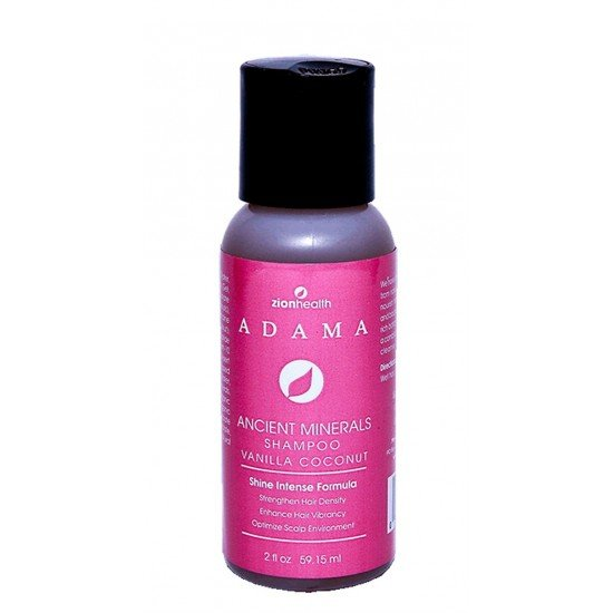 Adama Minerals Vanilla Coconut Shampoo 2oz image