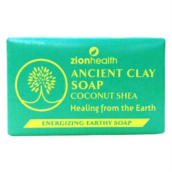 Ancient Clay Natural Soap - Coconut Shea 6oz image
