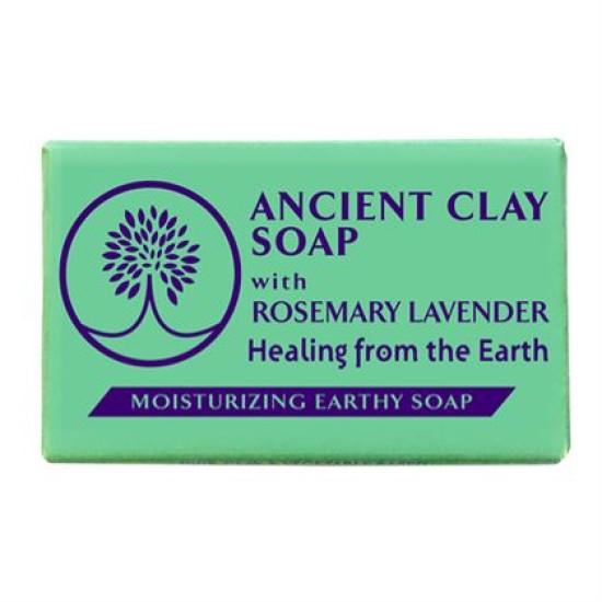 Ancient Clay Soap - Rosemary Lavender 6 oz 100% Natural image