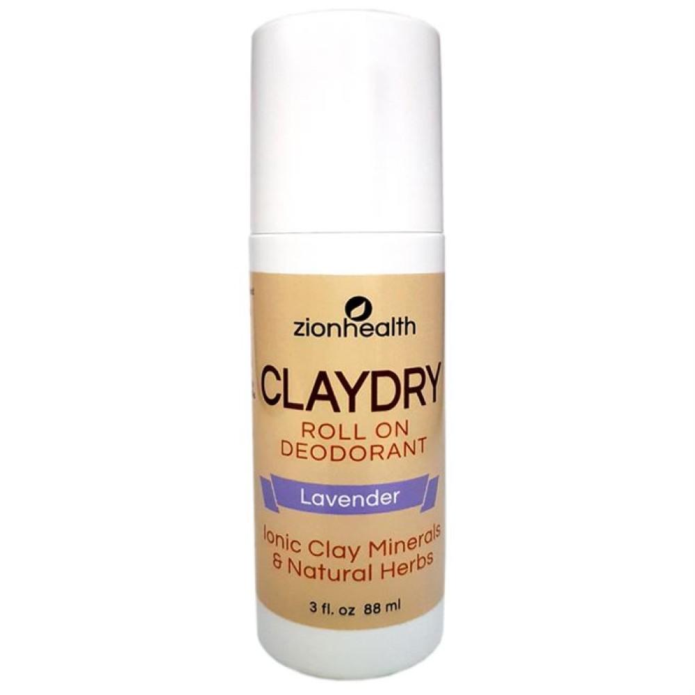 Clay Dry Roll On - Aluminum Free Deodorant