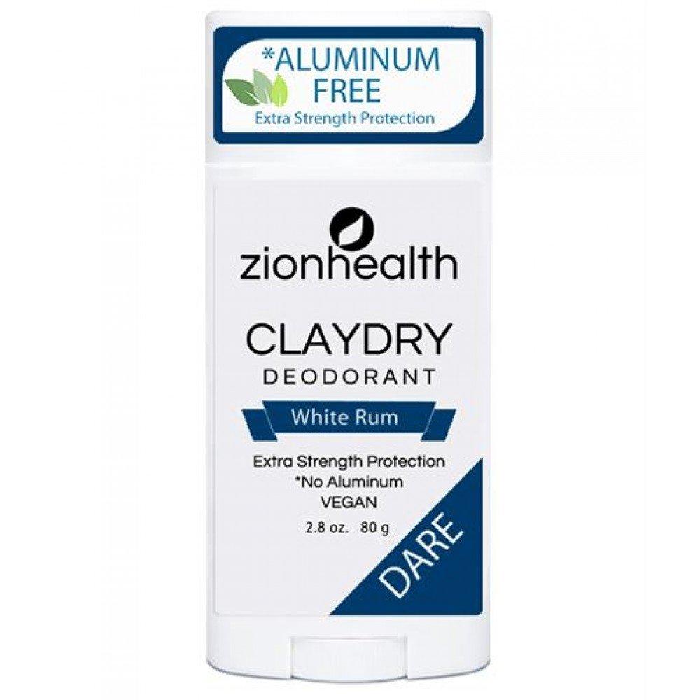 Clay Dry Dare Deodorant - NEW White Rum Scent - Vegan Deodorant