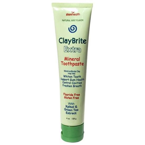ClayBrite Extra Toothpaste 4oz image