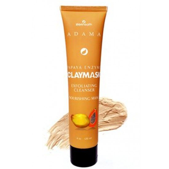 Papaya Enzyme Clay Face Mask - 4oz image