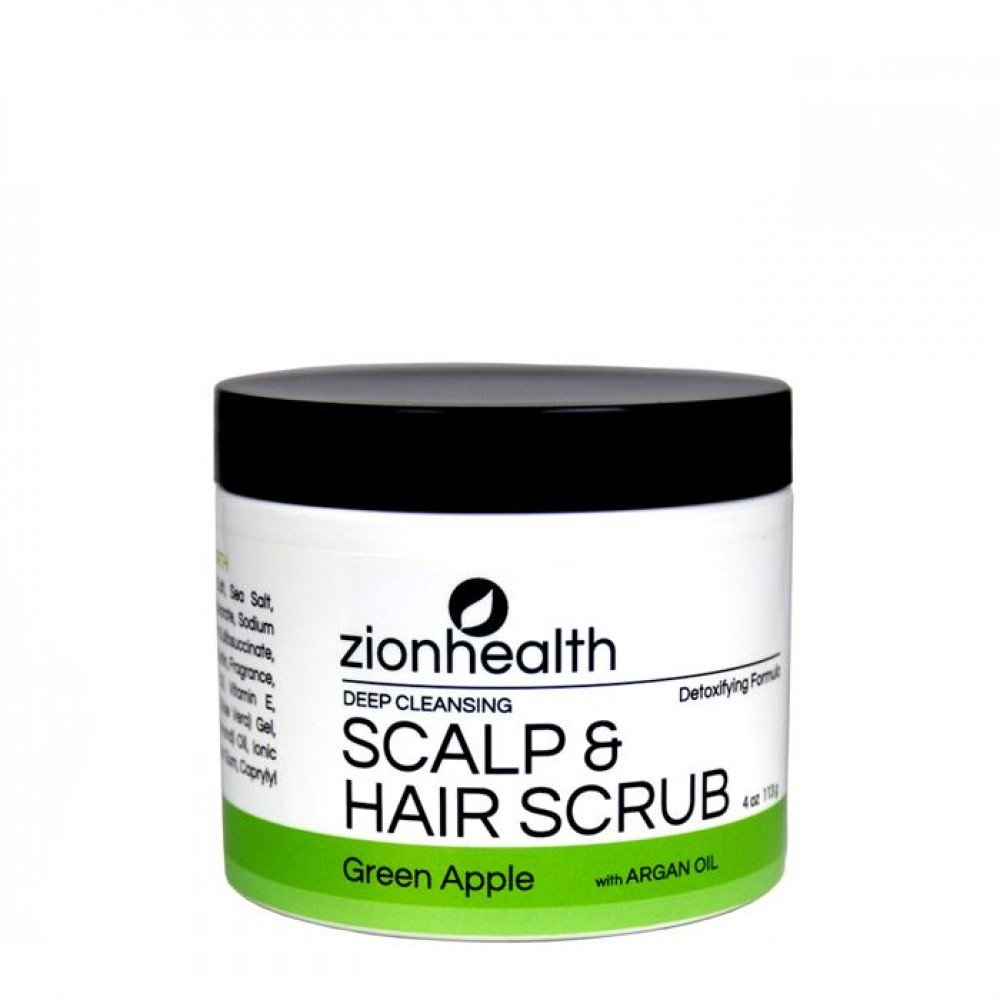 Deep Cleanse Hair Scrub Green Apple