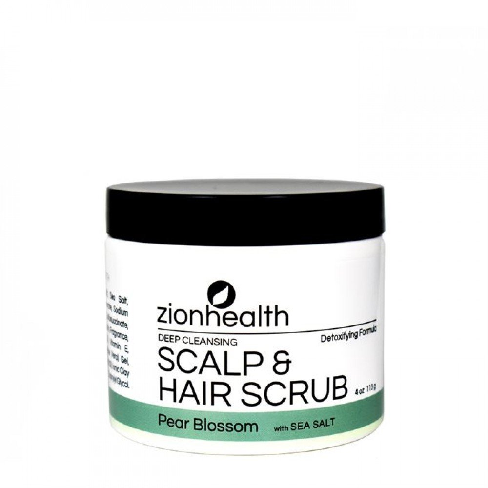 Hair Scrub Pear Blossom with Sea Salt