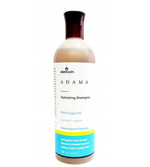 Adama Minerals Hydrating Color Care Shampoo with Argan Oil - Coconut Jasmine 16oz