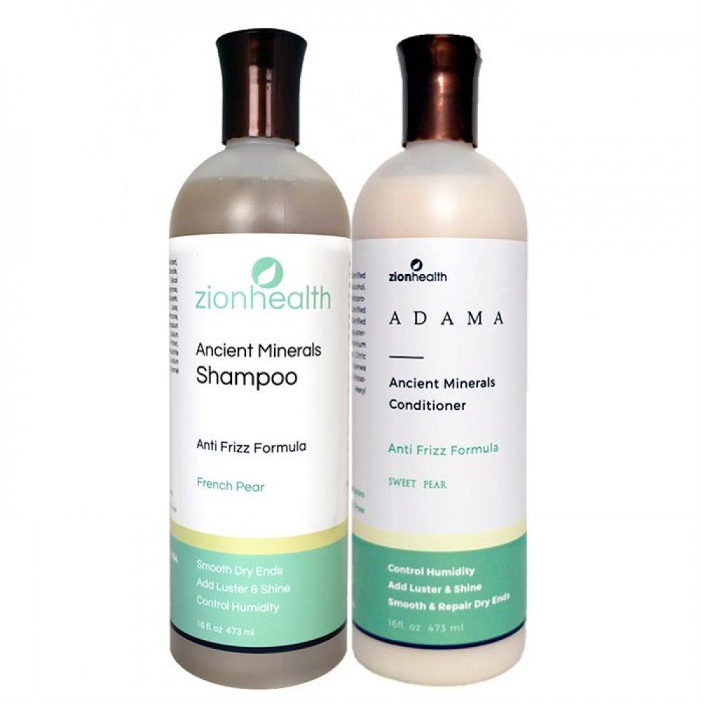 Adama Minerals Anti- Frizz Hair Care Package - Sweet Pea