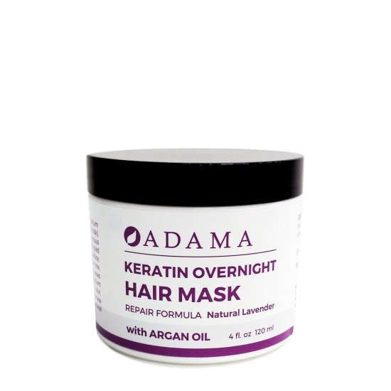 Adama Keratin Hair Mask with Argan Oil - Natural Lavender image