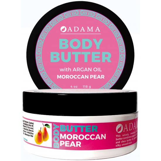 Body Butter with Argan Oil - Moroccan Pear image