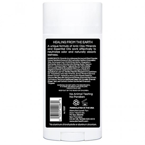 Clay Dry BOLD - Charcoal Mint Vegan Deodorant 2.8 oz. image