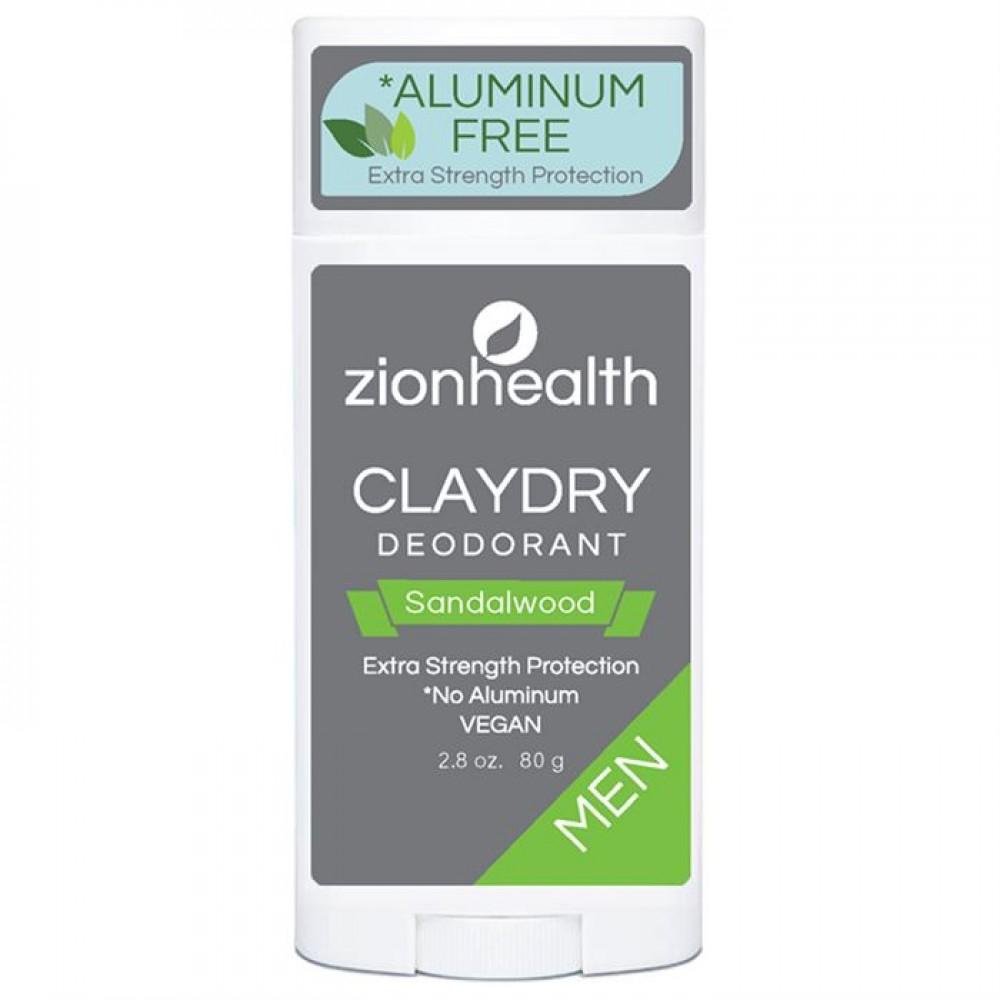 Clay Dry Bold - Sandalwood For Men Vegan Deodorant 2.8oz.